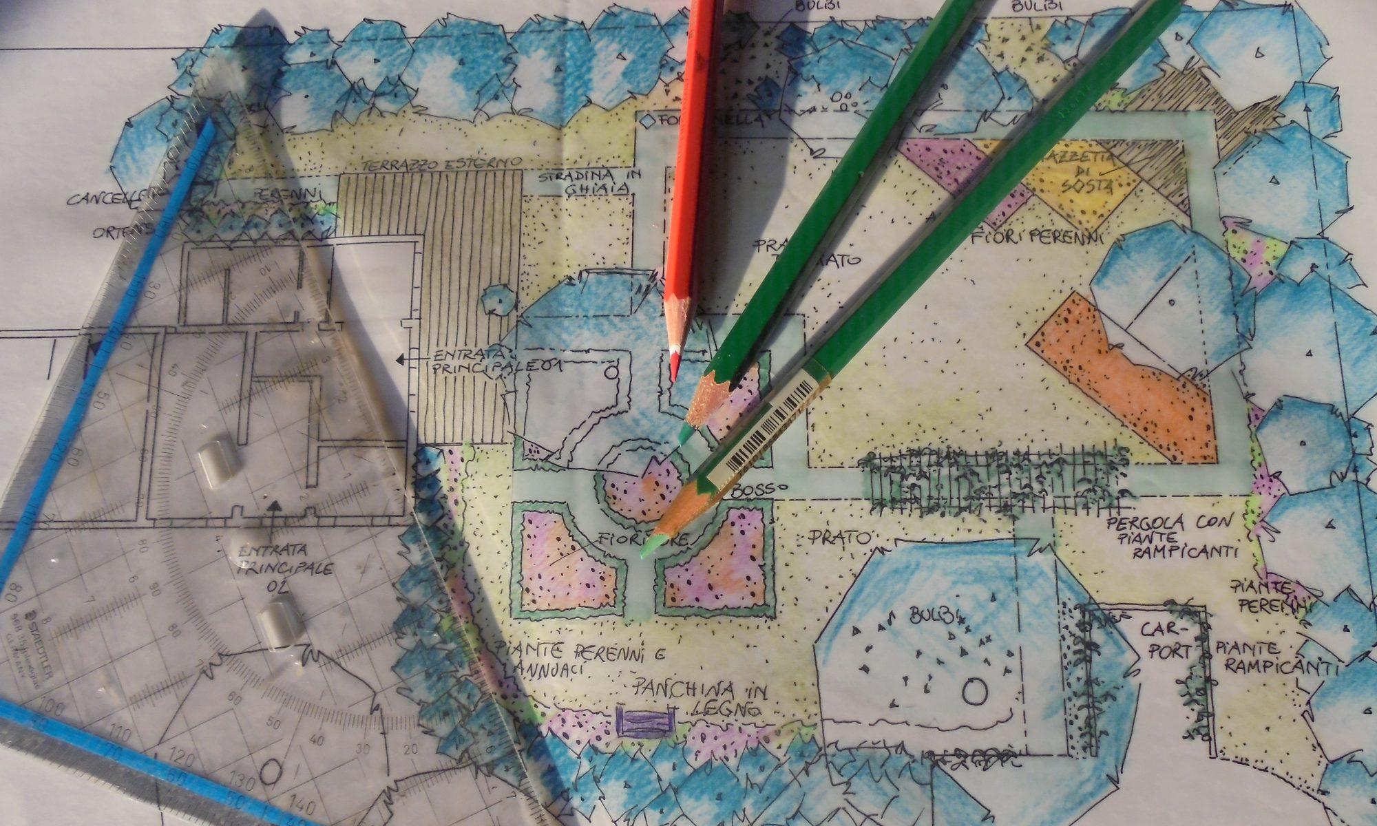 Progettazione di giardini a Treviso e Venezia