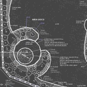 Progettazione di giardini: progettazione esecutiva golf club Jesolo